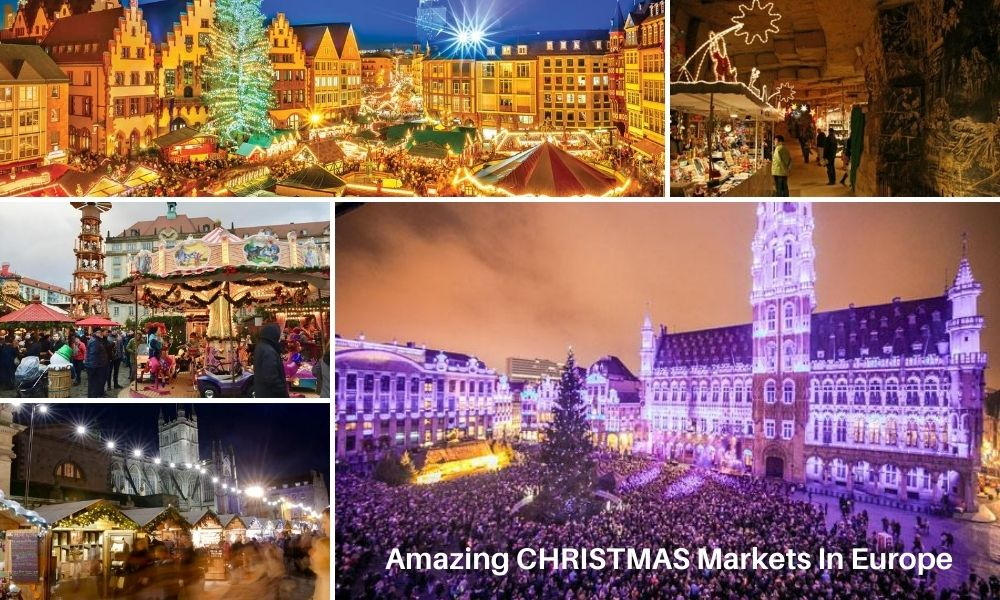 Chistmas market places in Europe