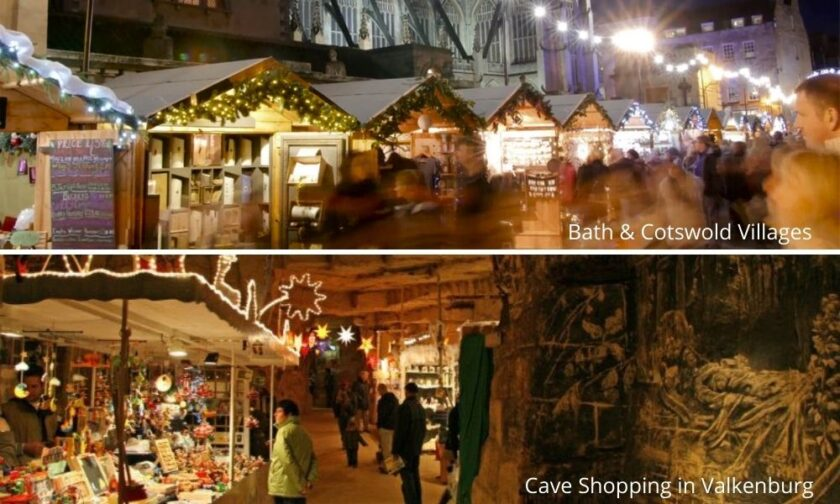 Christmas market places