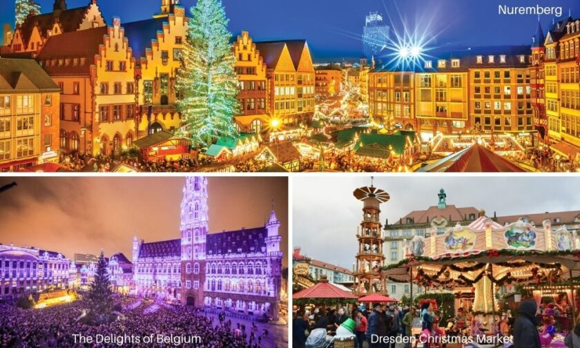 christmas market places in Europe
